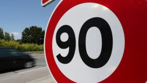 Attention 90 km/h
